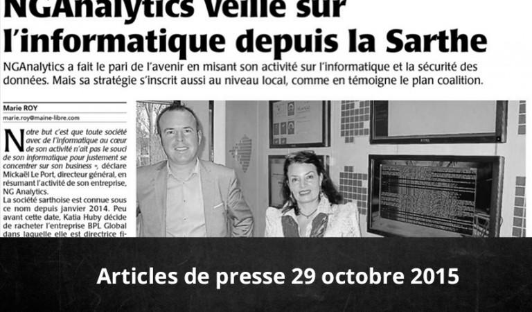Conférence de presse du 28 octobre